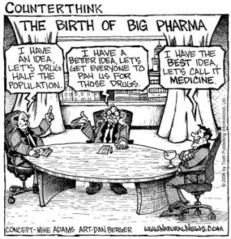 Counterthink Birth of Big Pharma